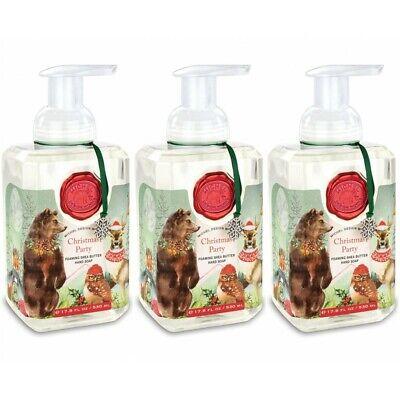 Set 3 Michel Design Works Foaming Liquid Hand Soap