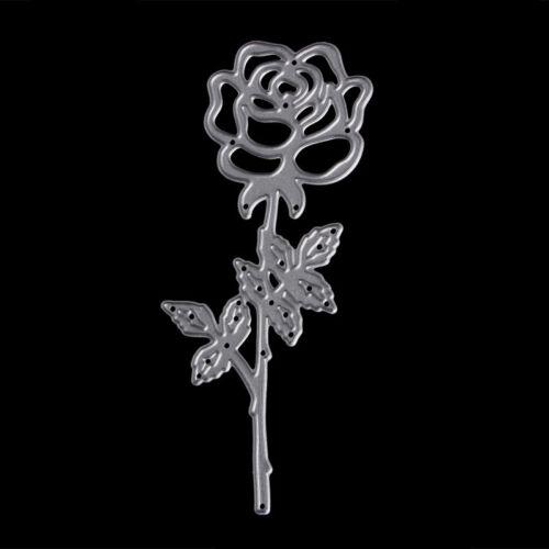 Rose Cutting Dies Stencils DIY Scrapbook Album Paper Card Embossing Craft Decor