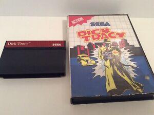 Sega Master System Dick Tracy