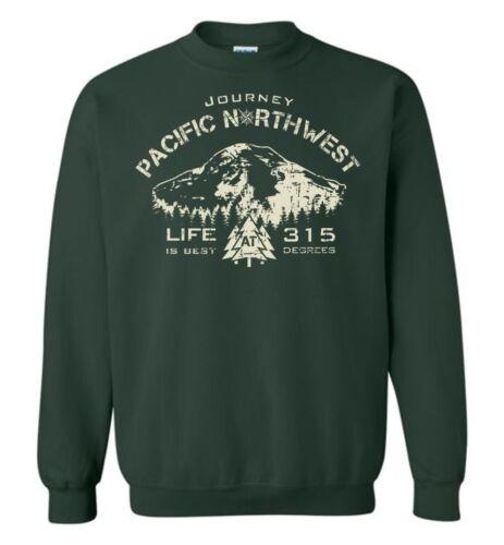 Pnw Pacific shirt Sweat Northwest Journey UVqzMGSp
