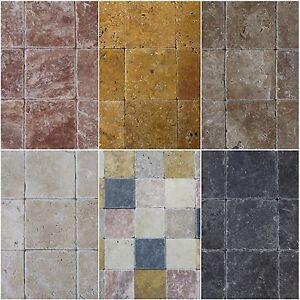 Details Zu Naturstein Fliesen Travertin Boden Wandfliese Mosaik Antikmarmor 10x10 200 Stuck