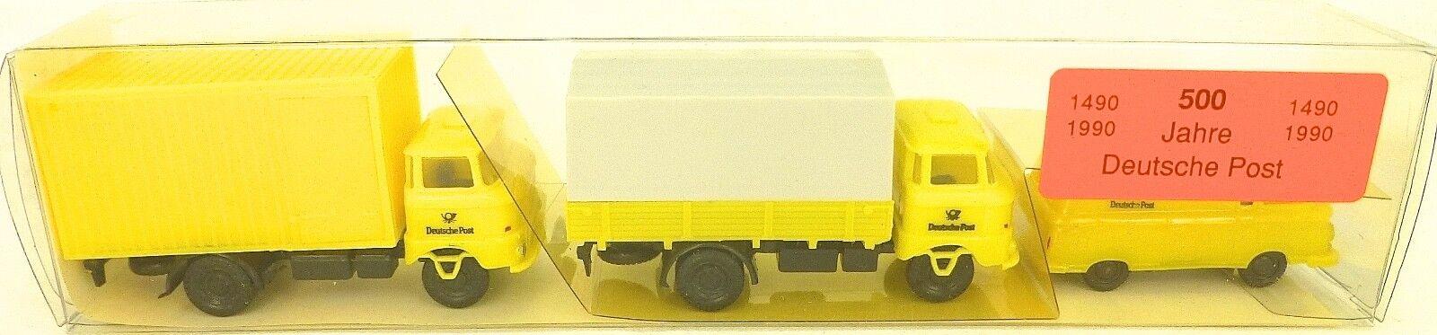 500 Jahre Deutsche post Special Set by Mini Car in Original Box 1 87  Hn2 Å