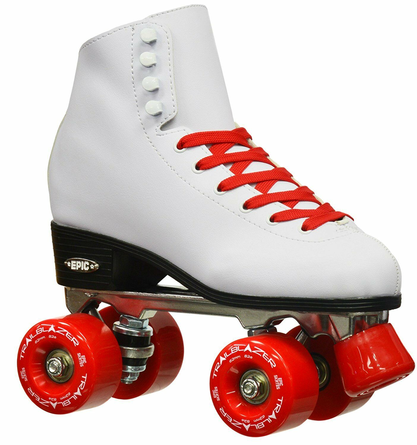 Epic S s Classic High-Top Quad Roller S s with  Red Wheels Size 10  wholesale price