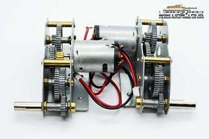 Metal-Gear-metal-TRANSMISSION-moteurs-Heng-Long-reservoir-1-16-4-IV-3859