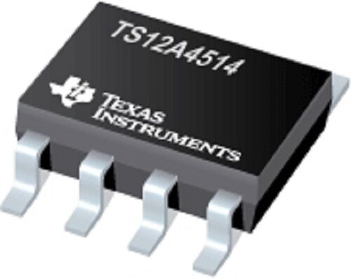 10PCS X TS12A4514DBVR TI IC SWITCH SPST SOT23-5