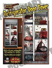 REFRIGERATOR DOOR COVER Creepy Severed Body Parts Halloween Decor RM4134