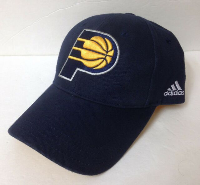 77ffaa371fb S M (max 7 3 8) adidas INDIANA PACERS HAT Curved bill structured ...