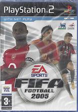 Ps2 PlayStation 2 **FIFA FOOTBALL 2005** nuovo sigillato versione import inglese