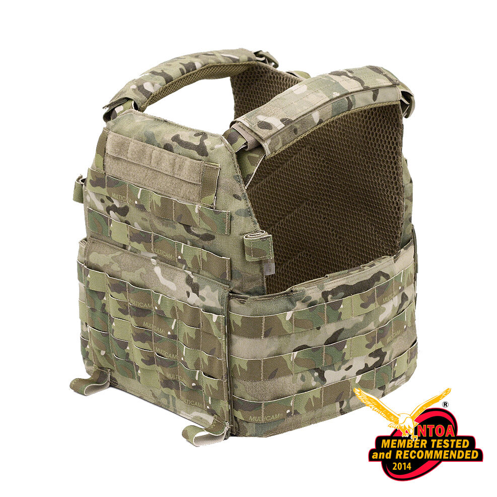 WARRIOR ASSAULT SYSTEMS DCS PLATE CARRIER MULTICAM MOLLE VEST PLATFORM