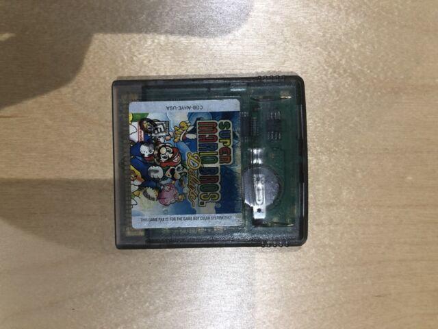 Super Mario Bros. Deluxe Nintendo Game Boy Color *Authentic & Saves*