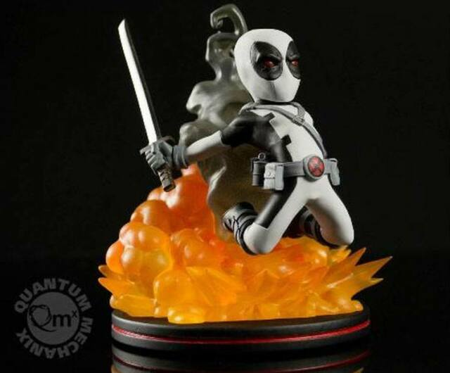Marvel Comics Q-Fig Figur Deadpool X-Force Variant LC Exclusive 15 cm