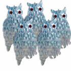 Proven Effective to Scare Birds! BirdBusters 3 Holographic Owl Bird Diverters