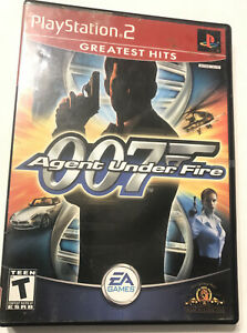 James Bond 007 in Agent Under Fire (Sony PlayStation 2, 2002) Complete Tested