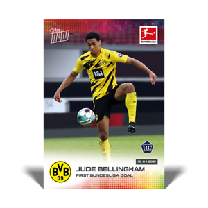 Jude Bellingham RC - 2021 Bundesliga Topps Now - Card #165 - Pre-Sale No Cancel