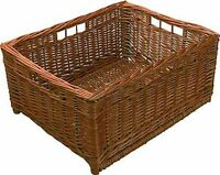 Hafele Wicker Basket With Four Handle Holes - Natural Wicker
