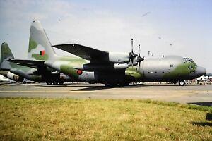 4-545-Lockheed-C-130H-Hercules-New-Zealand-Air-Force-NZ7005-Kodachrome-Slide