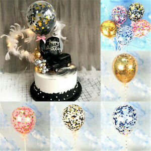 5-inch-Foil-Latex-Confetti-Balloons-Set-Baby-Shower-Wedding-Birthday-Hen-Party