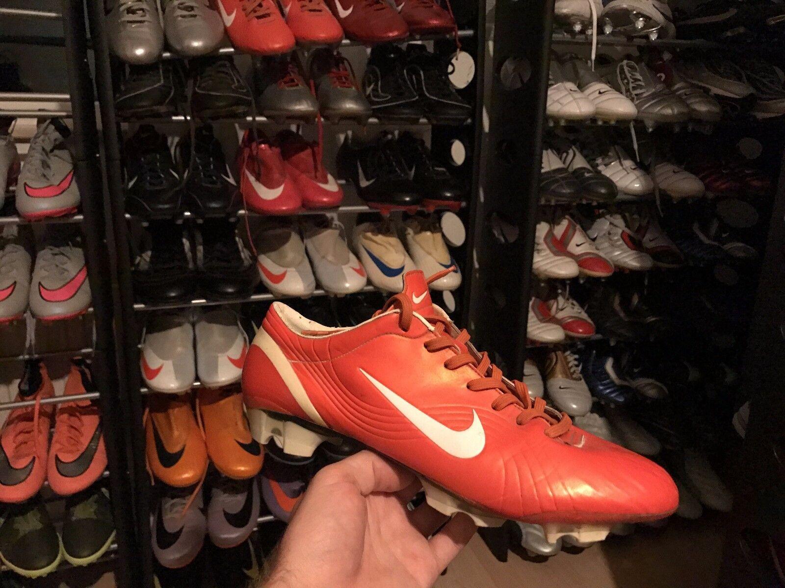 Nike Vapor Ii naranja R9 Ronaldo Vapor Fútbol Zapatos 44 9,5 10,5