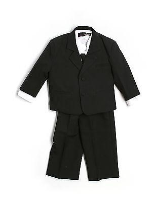 Gino Giovanni Black Usher Baby Boy Tuxedo Size Large 12-18 Month