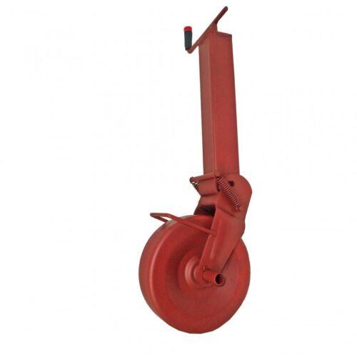 Simol Stützrad Anhängerstützrad halbautom Federung 1400 kg Stützlast Vierkant