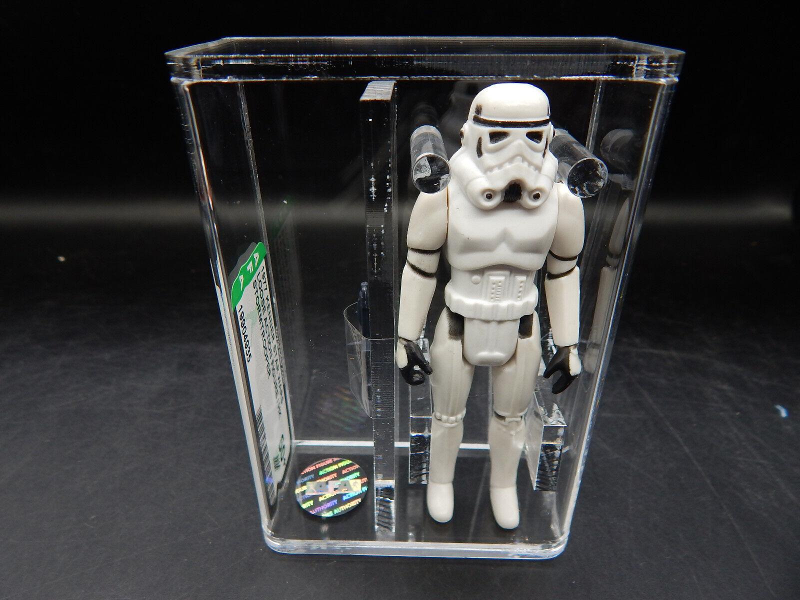 AFA 80+ Star Wars Imperial STORMTROOPER Kenner 1977 vintage action figure toy