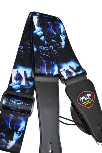 Guitar Strap Batman Returns Joker DC Comics Soft Quality Adjustable Ideal Gift