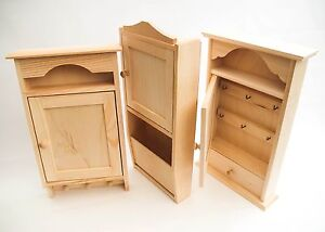 Image Is Loading Plain Wooden Key Box Cabinet Letters Holder Keys