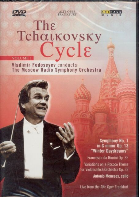 The Tchaikovsky Cycle Volume 1 DVD NEW Vladimir Fedoseyev Moscow Radio Symphony