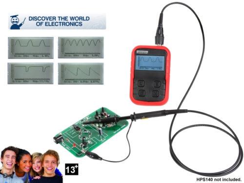 Velleman EDU06 oscilloscope Tutor À faire soi-même Kit