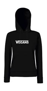 Vegans Girlie Felpa con Cappuccio