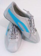 Taygra Brasil Gray & Light Blue Slim Sneakers Flexible & Light Shoes Size 44