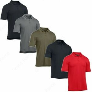 Under Armour 1279759 Men's UA Tactical Performance Loose-Fit Polo Team Shirt
