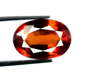 Padparadscha Orange Sapphire 4.55 Ct/13 mm Natural Oval Gems Certified A22729