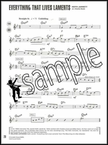 Jazz Alto Sax Saxophone Tunes Grade 1 Sheet Music Book with CD ABRSM
