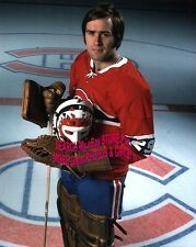 HOFer #29 Ken DRYDEN Poses @ CENTER Ice @ The FORUM Montreal CANADIENS 8X10 NEW!
