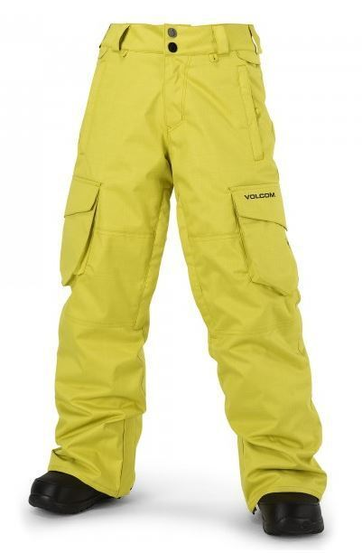 2016 NWT  BOYS VOLCOM FOLSOM INSULATED SNOWBOARD PANT  140 M citronelle green  stadium giveaways