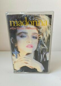 Vintage Cassette Tape Madonna The First Album 1983 Sire Records