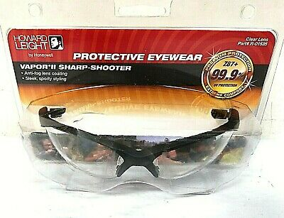 Howard Leight by Honeywell Vapor II Sharp-Shooter Anti-Glare Shooting Glasses R-01536 Amber Lens
