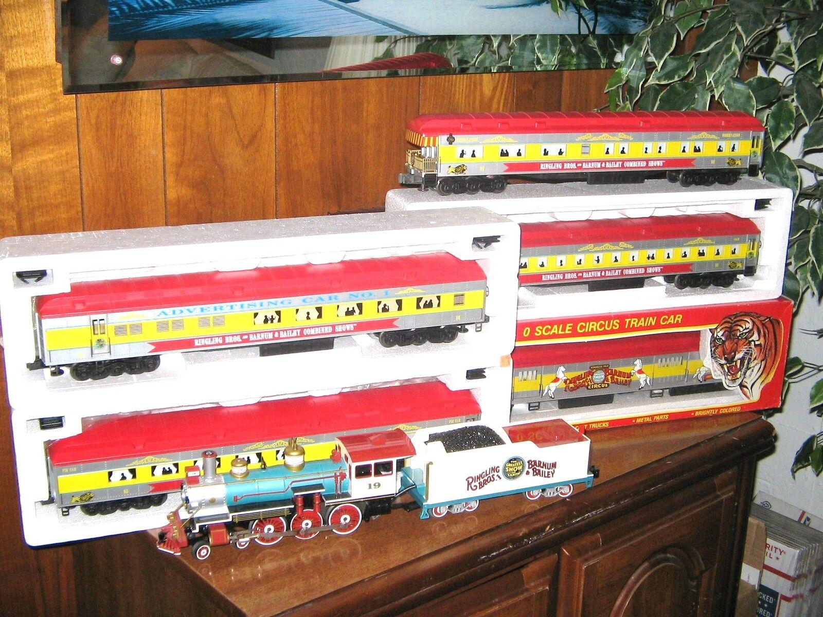 Descuento del 70% barato Williams k-line Circo Tren Tren Tren 4-6-0 Locomotora A Vapor C   Humo Y Sonido, coches C-8   9  calidad oficial