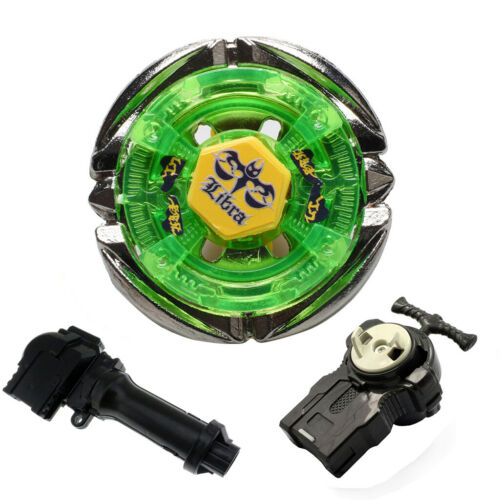 Fusion Masters BB48 Flame LIBRA Spinning Tops  Beyblade With Handle Launcher wh