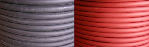 PER FOOT OF EACH COLOR Black /& Red - Welding//Battery Cable #4 Gauge AWG