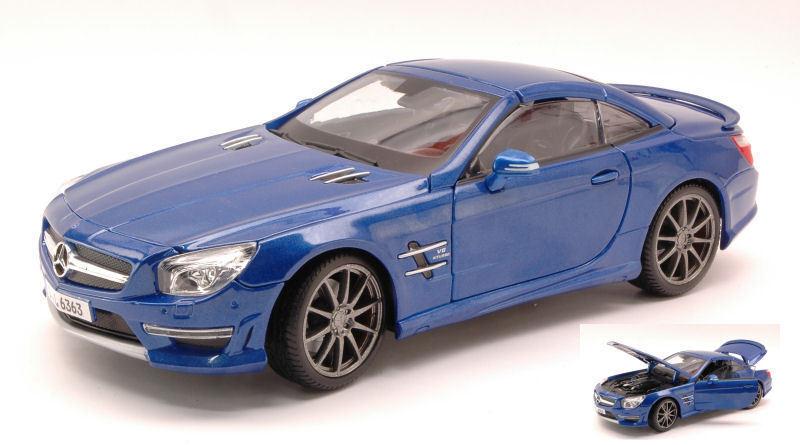 Mercedes SL65 AMG 45th Anniversary 2013 Hard Top Metallic Blau 1 18 MAISTO  | Neue Sorten werden eingeführt