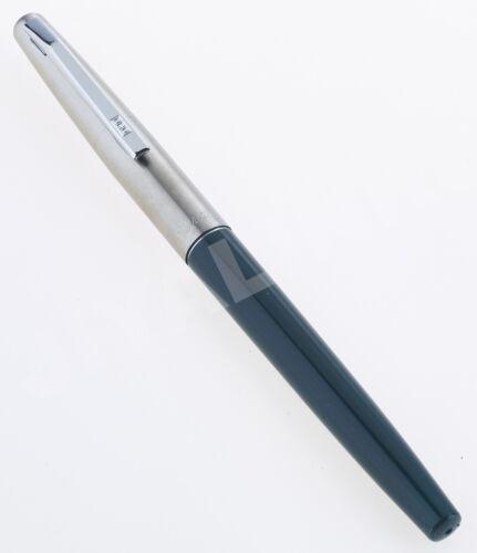 DARK GREEN BURGUNDY /& BLACK BARREL BRUSHED  STEEL CAP ORO  443 FOUNTAIN PEN