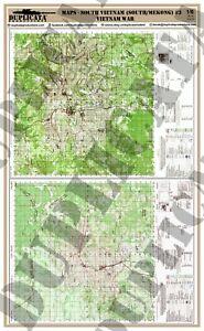 Diorama Accessory - 1/6 Maps - South Vietnam (South/Mekong) #3 ...