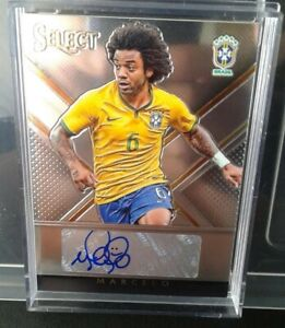 MARCELO - Brazil Autograph 101/180 Soccer Select 2015.