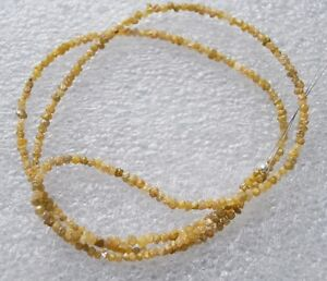 13-04-ct-natural-yellow-raw-rough-Rouded-uncut-diamond-beads-16-necklace-silver