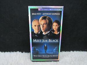 1999-Meet-Joe-Black-Starring-Brad-Pitt-Universal-Special-Edition-VHS-Tape-Set