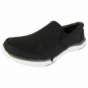 Teva-Women-039-s-Wander-Canvas-Slip-On-Loafer-Sneaker-Shoes-Flats-Size-5-EUR-36