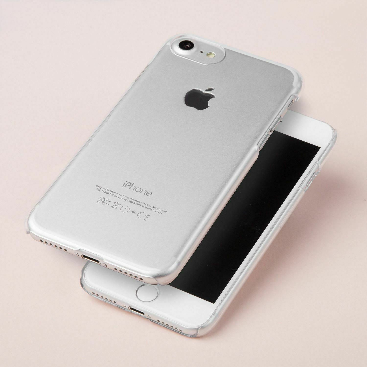 newest 2f782 6f3d7 Clear iPhone X Plastic Case iPhone 7 8 Plus Wholesale Cover iPod Touch 5 6  Bulk