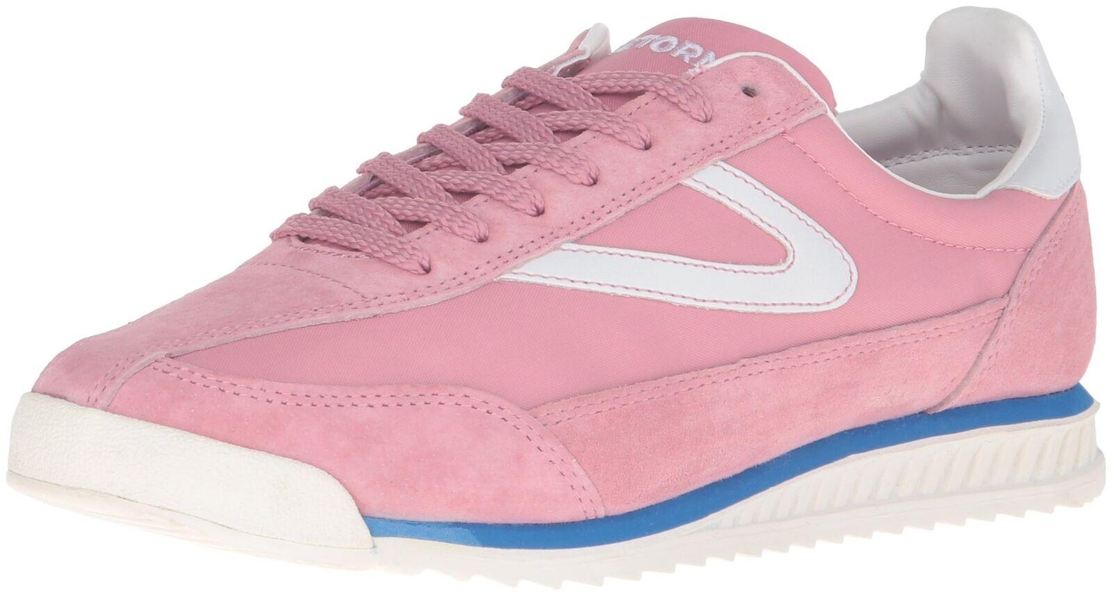 Tretorn Women's Rawlins3 Fashion Sneaker, Pink/Pink, 6.5 M US